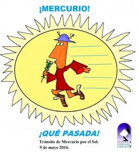 Mercurio, el protagonista del tránsito del 9 de mayo